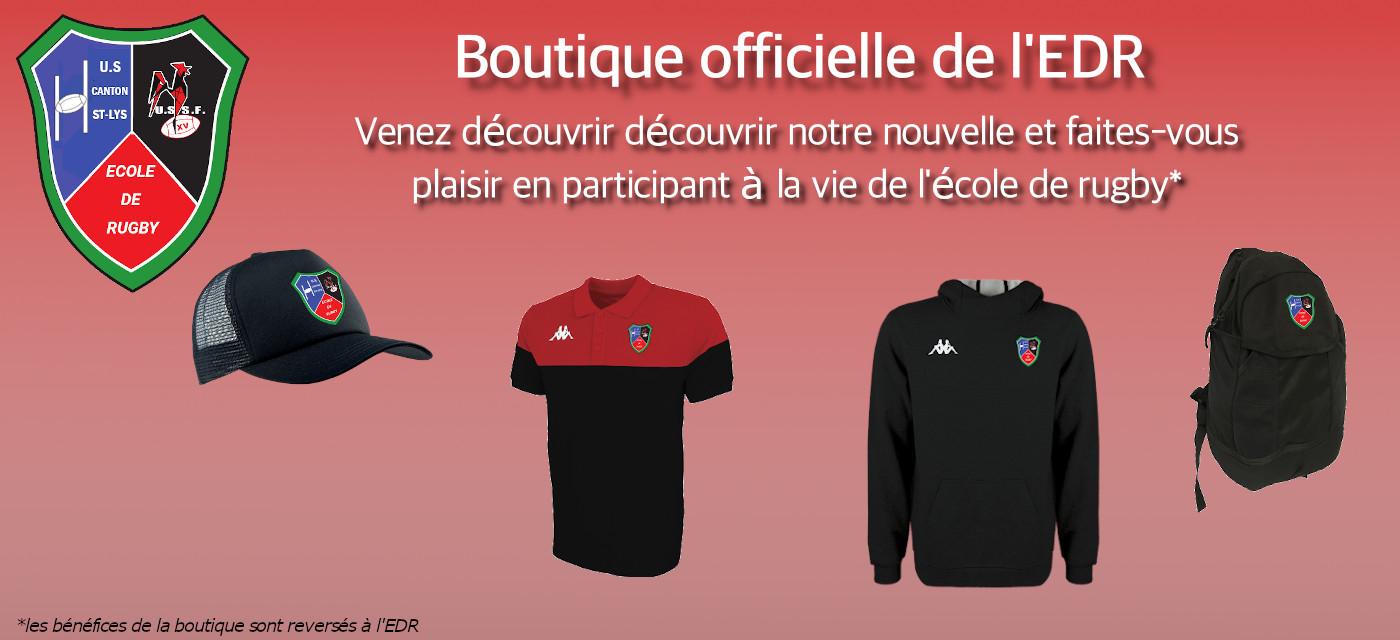 Boutique école de rugby saint-lys sainte-foy